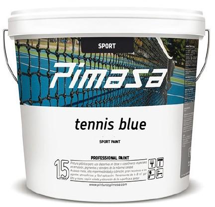 Tennis blue