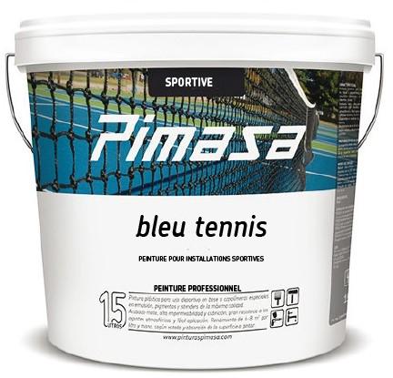 Bleu tennis