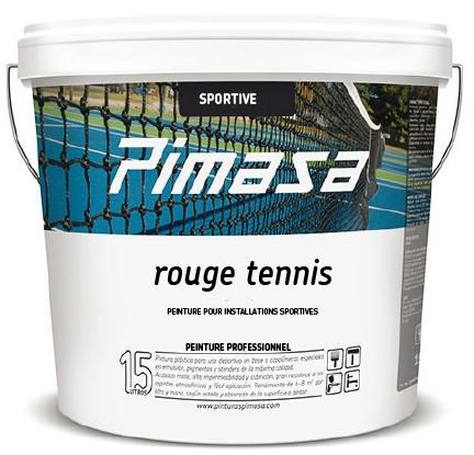 Rouge tennis